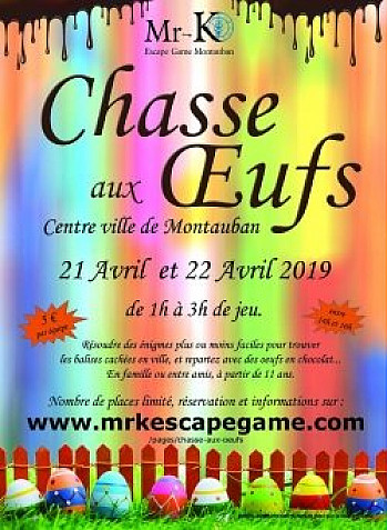 Chasse aux oeufs - Montauban