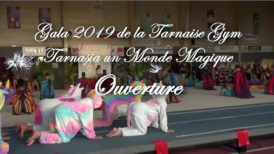 Gala 2019 de la Tarnaise Gym: Tableau d'Ouverture de Tarnaisia 33ème gala de fin d'année